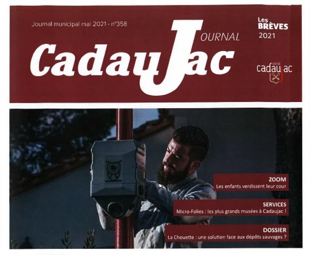 LACHOUETTE : une solution face aux dépôts sauvages pour la commune de Cadaujac en Gironde (33)
